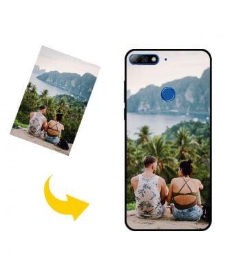 Prispôsobené HUAWEI Y7 Prime (2018) puzdro na telefón s vlastným dizajnom, fotografiami, textami atď.