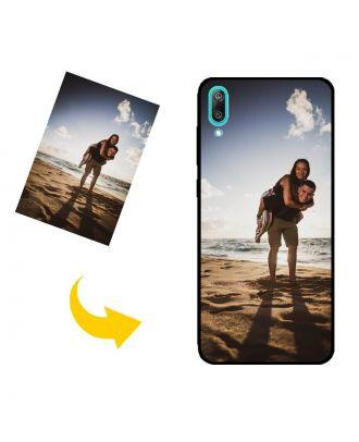 Tilpasset HUAWEI Y7 Pro (2019) telefonveske med egne bilder, tekster, design osv.