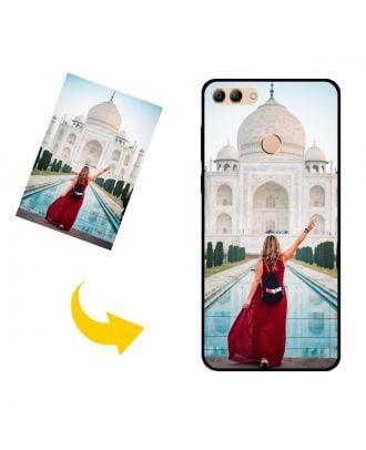 Prispôsobené HUAWEI Y9 (2018) puzdro na telefón s vašimi fotografiami, textami, dizajnom atď.