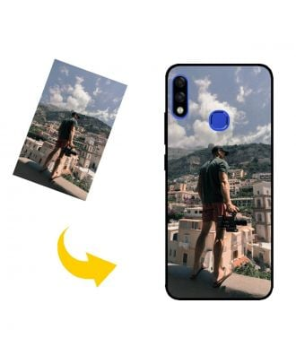 Aangepast Infinix Hot 7 Pro telefoonhoesje met je eigen foto's, teksten, ontwerp, etc.