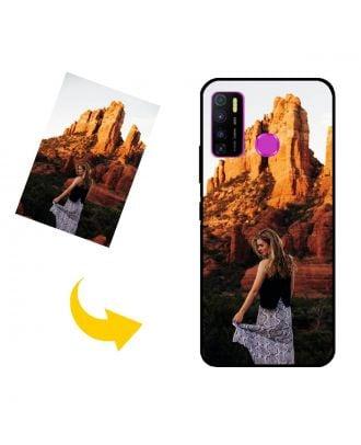 Fotoğraflarınız, Metinleriniz, Tasarımınız vb.İle Özel Infinix Hot 9 Pro Telefon Kılıfı