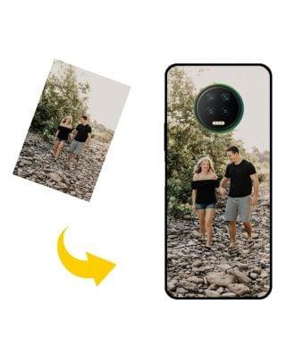 Prispôsobené Infinix Note 7 puzdro na telefón s vlastným dizajnom, fotografiami, textami atď.