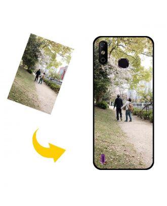Carcasa de teléfono Infinix Smart 4 personalizada con sus propias fotos, textos, diseño, etc.