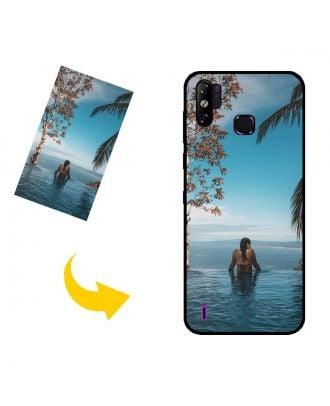 Tilpasset Infinix Smart 4c telefonveske med eget design, bilder, tekster, etc.