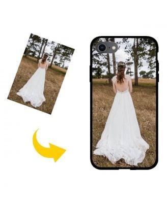 Gepersonaliseerd iPhone SE (2020) telefoonhoesje met uw foto's, teksten, ontwerp, etc.