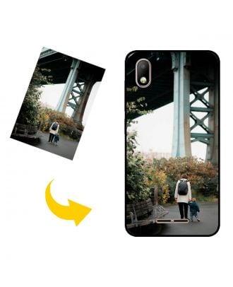 Personlig Lava Z40 telefonveske med egne bilder, tekster, design osv.