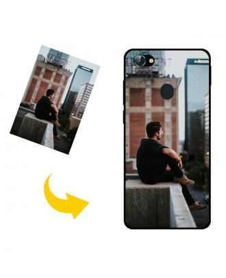 Custom Lava Z92 Phone Case with Your Own Photos, Texts, Design, etc.