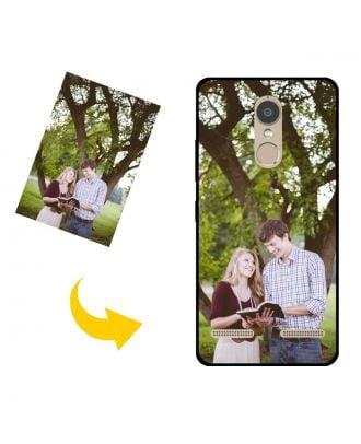 Tilpasset Lenovo K7 telefon etui med dit eget design, fotos, tekster osv.