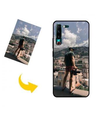 Aangepast Lenovo Z6 Pro telefoonhoesje met je eigen foto's, teksten, ontwerp, etc.