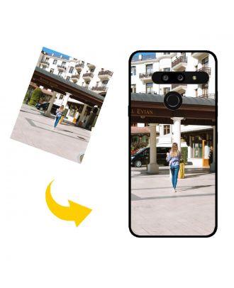 Виготовлений на замовлення LG G8 ThinQ чохол для телефону з власними фотографіями, текстами, дизайном тощо.