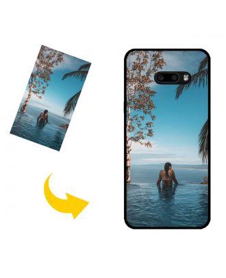Carcasa de teléfono LG G8X ThinQ personalizada con sus propias fotos, textos, diseño, etc.