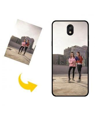 Custom Made LG K30 (2019) Telefoonhoesje met je eigen foto's, teksten, ontwerp, etc.