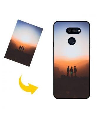 Skræddersyet LG K40S telefon taske med dit eget design, fotos, tekster osv.