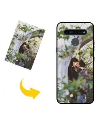 Aangepast LG K41S telefoonhoesje met je eigen foto's, teksten, ontwerp, etc.