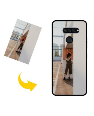 Prispôsobené LG K50S puzdro na telefón s vlastnými fotografiami, textami, dizajnom atď.