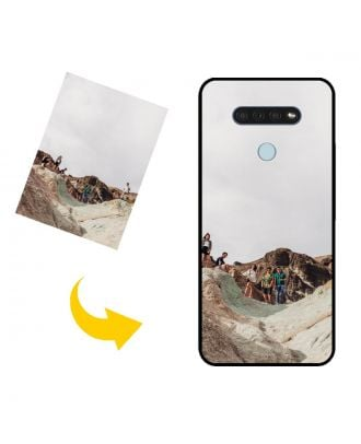 Customized LG Q51 Phone Case with Your Own Photos, Texts, Design, etc.