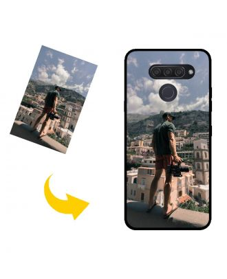 Custom LG Q60 Phone Case with Your Photos, Texts, Design, etc.