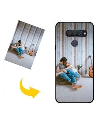 Aangepast LG Q70 telefoonhoesje met je eigen foto's, teksten, ontwerp, etc.