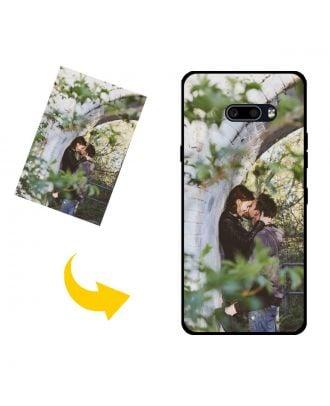 Aangepast LG V50S ThinQ 5G telefoonhoesje met je eigen foto's, teksten, ontwerp, etc.