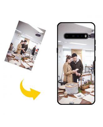 Aangepast LG V60 ThinQ 5G UW telefoonhoesje met uw foto's, teksten, ontwerp, etc.