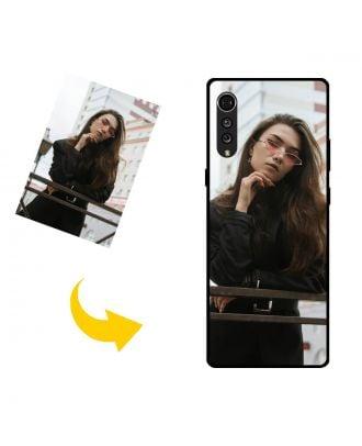 Prispôsobené LG Velvet 5G puzdro na telefón s vašimi fotografiami, textami, dizajnom atď.