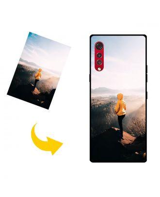 Personalizované LG Velvet 5G UW puzdro na telefón s vlastným dizajnom, fotografiami, textami atď.