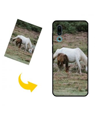 Aangepast MEIZU 16s telefoonhoesje met uw foto's, teksten, ontwerp, etc.