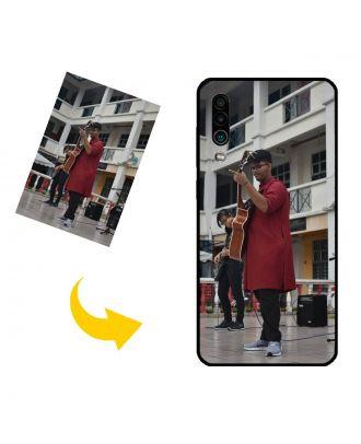 Gepersonaliseerd MEIZU 16Xs telefoonhoesje met uw foto's, teksten, ontwerp, etc.
