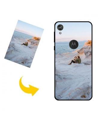 Prispôsobené Motorola Moto E6 puzdro na telefón s vašimi fotografiami, textami, dizajnom atď.