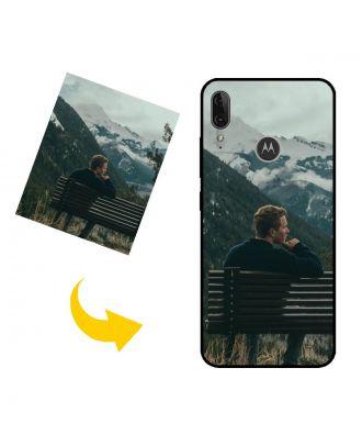Personlig Motorola Moto E6 Plus telefonveske med bilder, tekster, design osv.