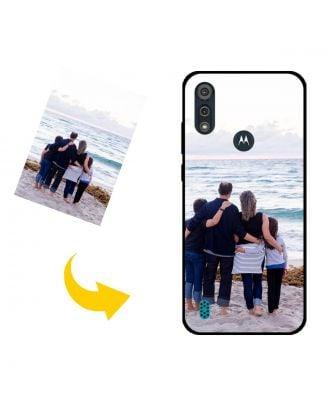 Prispôsobené Motorola Moto E6s (2020) puzdro na telefón s vlastnými fotografiami, textami, dizajnom atď.