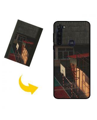 Custom Made Motorola Moto G Stylus Phone Case with Your Photos, Texts, Design, etc.