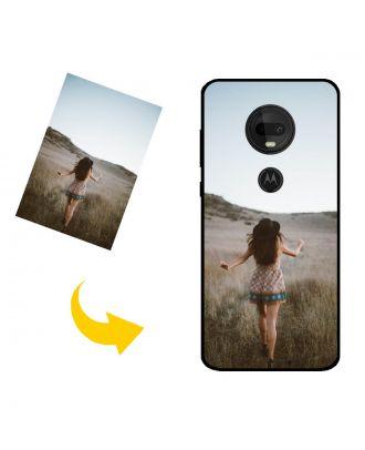 Prispôsobené Motorola Moto G7 puzdro na telefón s vlastným dizajnom, fotografiami, textami atď.