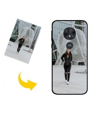 Gepersonaliseerd Motorola Moto G7 Play telefoonhoesje met uw foto's, teksten, ontwerp, etc.
