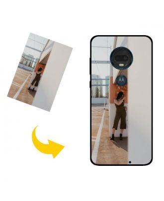 Räätälöity Motorola Moto G7 Plus puhelinkotelo valokuviesi, tekstiesi, suunnittelusi jne. Kanssa