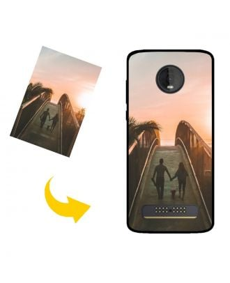 Personalized Motorola Moto Z4 Phone Case with Your Own Photos, Texts, Design, etc.
