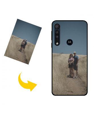 Personalizované Motorola One Fusion puzdro na telefón s vašimi fotografiami, textami, dizajnom atď.