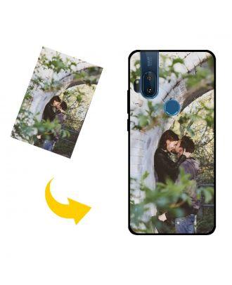 Mukautettu Motorola One Hyper puhelinkotelo valokuvillesi, teksteillesi, suunnittelulle jne.