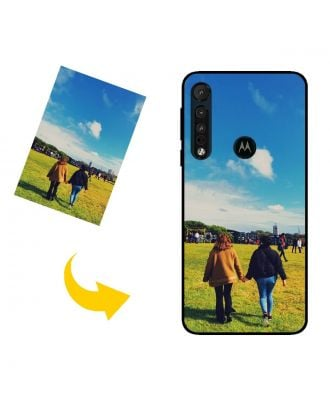 Personalized Motorola One Macro Phone Case with Your Own Photos, Texts, Design, etc.