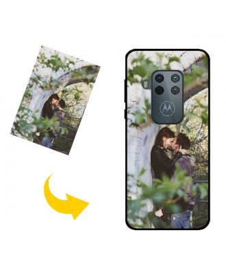 Custom Made Motorola One Zoom Phone Case with Your Own Photos, Texts, Design, etc.
