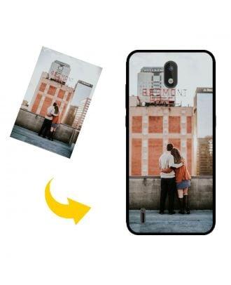 Skræddersyet Nokia 1.3 telefon taske med dine egne fotos, tekster, design osv.
