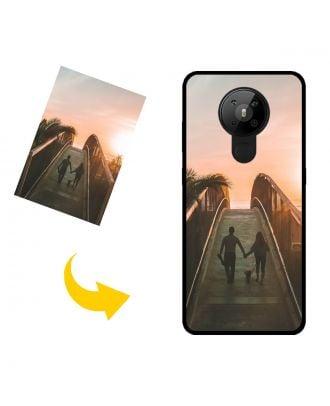 Prispôsobené Nokia 5.3 puzdro na telefón s vlastnými fotografiami, textami, dizajnom atď.