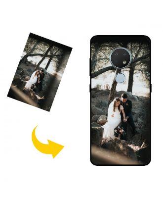 Mittatilaustyönä tehty Nokia 6.2 puhelinkotelo valokuvillesi, teksteillesi, suunnittelulle jne