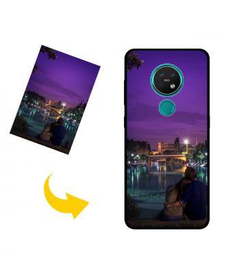 Спеціальний Nokia 7.2 чохол для телефону з власними фотографіями, текстами, дизайном тощо.