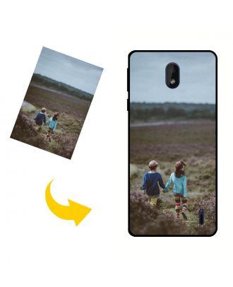 Nokia 1 Plus Púzdro na telefón vyrobené na mieru s vašimi fotografiami, textami, dizajnom atď.