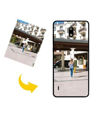 Custom Made Nokia 3.1 A Phone Case with Your Own Photos, Texts, Design, etc.