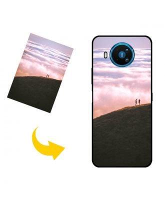 Спеціальний Nokia 8.3 5G чохол для телефону з власними фотографіями, текстами, дизайном тощо.