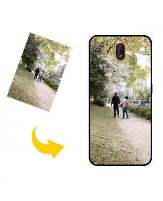 Brugerdefineret Nokia C1 telefonetui med dine fotos, tekster, design osv.