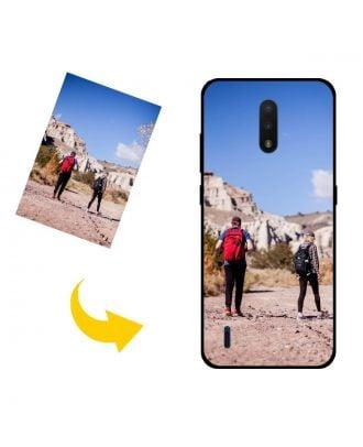 Räätälöity Nokia C2 Tava puhelinkotelo valokuviesi, tekstiesi, suunnittelusi jne. Kanssa