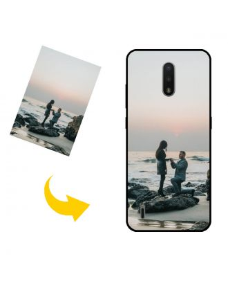 Personalized Nokia C2 Tennen Phone Case with Your Own Design, Photos, Texts, etc.